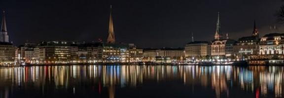 Гамбург в августе