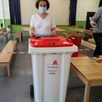 Bundestagwahl 2021. Как я работала на избирательном участке