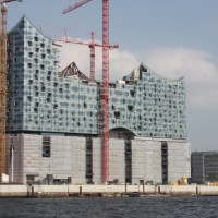 Строительство гамбургской филармонии продолжается