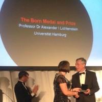 Профессор Гамбургского университета Александр Лихтенштейн награжден престижной научной премией имени Макса Борна