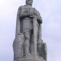 Памятники Гамбурга — Рыцарь Роланд