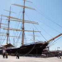 Барк Peking прибудет в Гамбург и займет почетное место в Музее порта