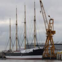 Гамбург встречает барк Peking — Добро пожаловать домой!
