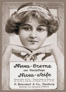 Реклама крема в 1912 году