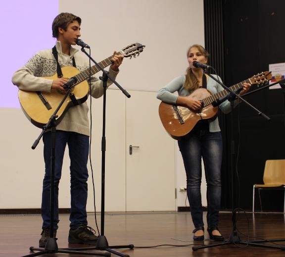 Дуэт Дария и Александр Снатенковы