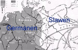 Slawen Germanen Unterschied