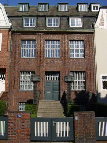 Hamburg Haus Warburg